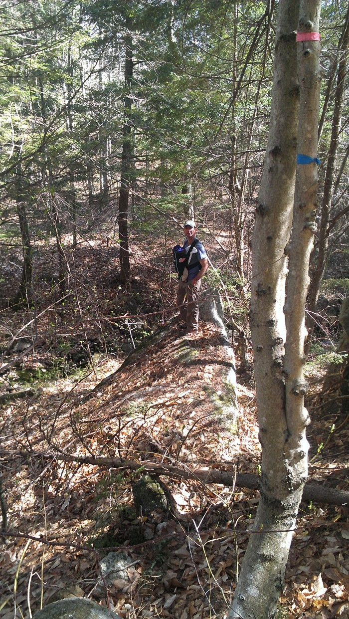 Andrew takes Alden off trail.