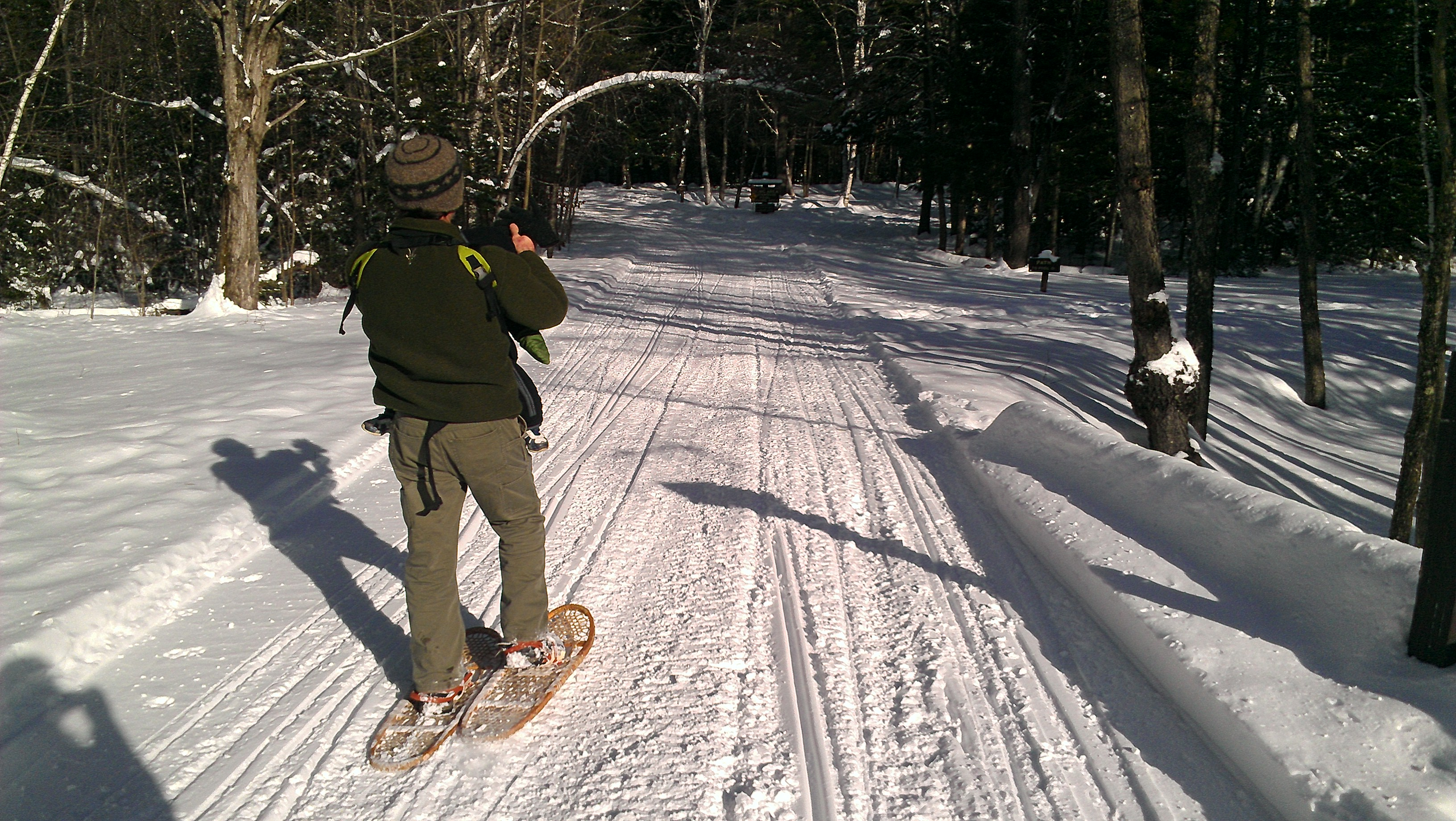 Short Snowshoe at Moose Brook State Park | Outdoor Adventures on hiking map, bear brook trail race, dogtown gloucester ma bike trail map,