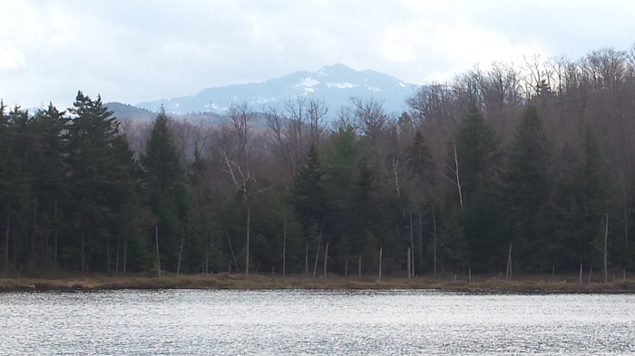 A lovely mountain view from Mascot Pond.