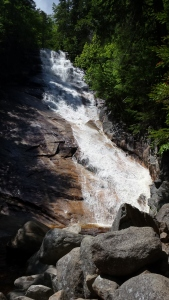 The second tallest waterfall in New Hampshire - 100 feet.